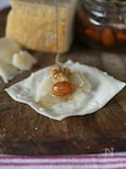 パルメザンチーズとハニーナッツのカナッペ