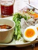 めんつゆで広島風つけ麺