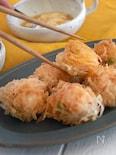【包まず簡単】リクエストがくる♪ 海老と枝豆チーズの揚げ焼売
