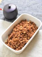 簡単作り置き♪豆腐入り肉そぼろ*かさ増しで節約&ダイエット
