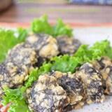 もずく好きの簡単おつまみ♬もずくと豆腐のふんわり焼き☆