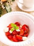 甘酸っぱくて美味しい♡ミニトマトとクリームチーズのマリネ