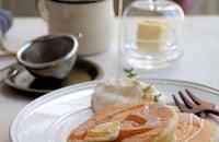 【栁川さん家の休日朝ごはん~第6回~】肌寒い秋の朝に。ふわっふわスフレパンケーキで幸せ朝ごはん