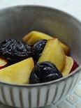 サツマイモとプルーンのワイン煮