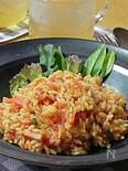 トマトソースのリゾーニ