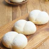 60分でふわふわ白パン!