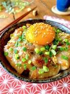腹12分目まで食べたくなる♡【照りとろ豚たま丼】