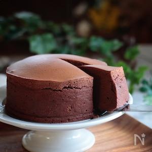 ふわシュワ「大人のチョコスフレチーズ」