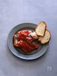 塩鯖のトマト煮
