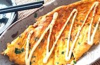 ふわっふわ・栄養たっぷり♡豆腐入りふわふわ納豆にら玉子焼き
