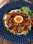 【炒めて簡単】豚ひき肉とゴロゴロ茄子のやみつきキーマカレー