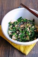 木綿豆腐の海苔ねぎごまサラダ