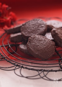 『新食感*ほろ苦チョコレートクッキー*』