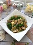 菜の花とあさりのスープスパゲッティ