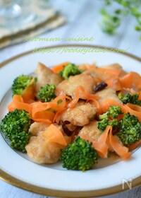 『安くて旨い!鶏むね肉と彩り野菜の南蛮漬け☆作り置きにも♬』