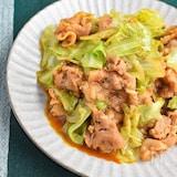 【下味冷凍肉で】豚とキャベツのにんにくみそ炒め