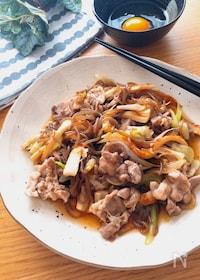 『まさにすき焼き❗️激旨節約レシピ♡糸こんメインのすき焼き風』