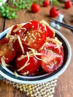 ポリ袋シャカシャカで完成♡【トマトの生姜さっぱり漬け】