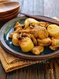 *鶏肉と長芋のにんにく味噌バター炒め*