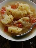 クミンたっぷり、風味よし☆カリフラワーのジンジャースープ