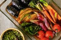 とろーりニラタレがポイント♪夏野菜の揚げびたし