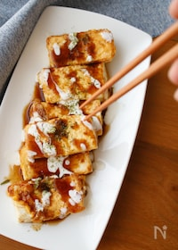 『『豆腐のお好み焼き風』#簡単#おつまみ』