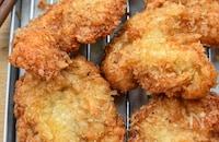 【胸様レシピ】マヨdeパン粉付け♪簡単ジューシー♪チキンカツ