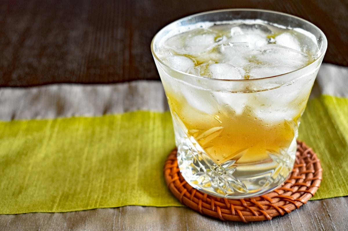 梅シロップのジュース