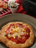 クリスマスに♡BRUNOで作る簡単クリスピーピザ