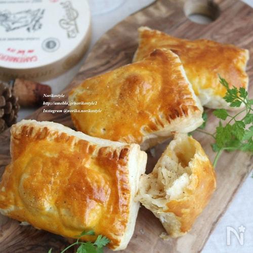 カマンベールチーズと玉ねぎのパイ
