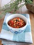 カラフル野菜の洋風肉そぼろ