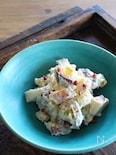 りんごとさつま芋のチーズサラダ