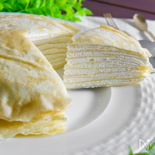 で ホット クレープ ミックス ケーキ ミル ミルクレープのレシピ・作り方 【簡単人気ランキング】|楽天レシピ