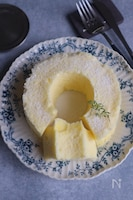レンジで簡単!シフォンケーキ【卵2個】