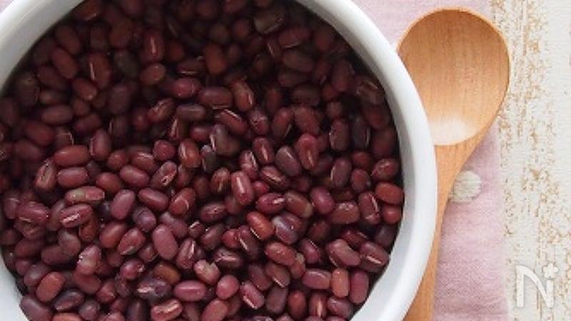 甘くない小豆の煮方