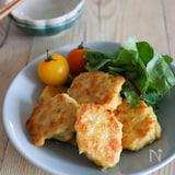 やわらかカレー風味豆腐チキンナゲット♪冷凍OK!卵不使用