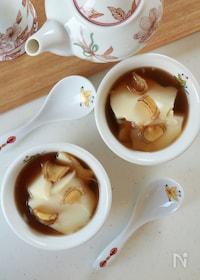 『豆花のジンジャージャスミンシロップ』