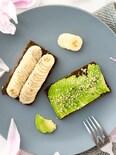 アボカドトーストとバナナトースト