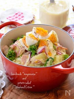 菜の花のポテトサラダ