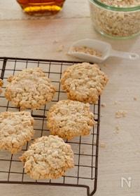 『オートミールメープルクッキー簡単子どもと作れるおやつ乳卵なし』