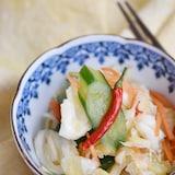 香味野菜とキャベツの浅漬け【作り置き】