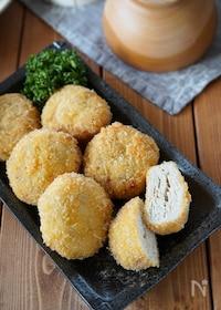 『ほんのり梅風味♪鶏ひき肉と長ねぎのメンチカツ』