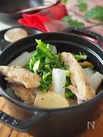 鶏手羽中と大根のコラーゲンたっぷり美肌スープ