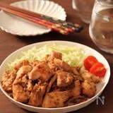 舞茸パワー!柔らか鶏胸肉の生姜焼き
