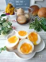 美味しすぎる!ゆで卵の黒酢醤油漬け