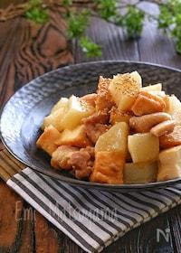 『【らくレピ】レンジで簡単!*大根と絹厚揚げと鶏肉のコク旨煮*』
