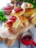 発酵なし!ホットケーキミックスでソーセージパン#簡単#時短