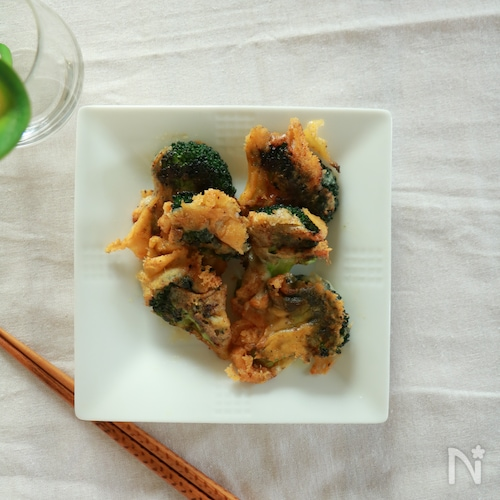 カリカリチーズブロッコリー