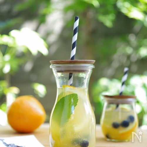 オレンジの簡単ホワイトサングリア