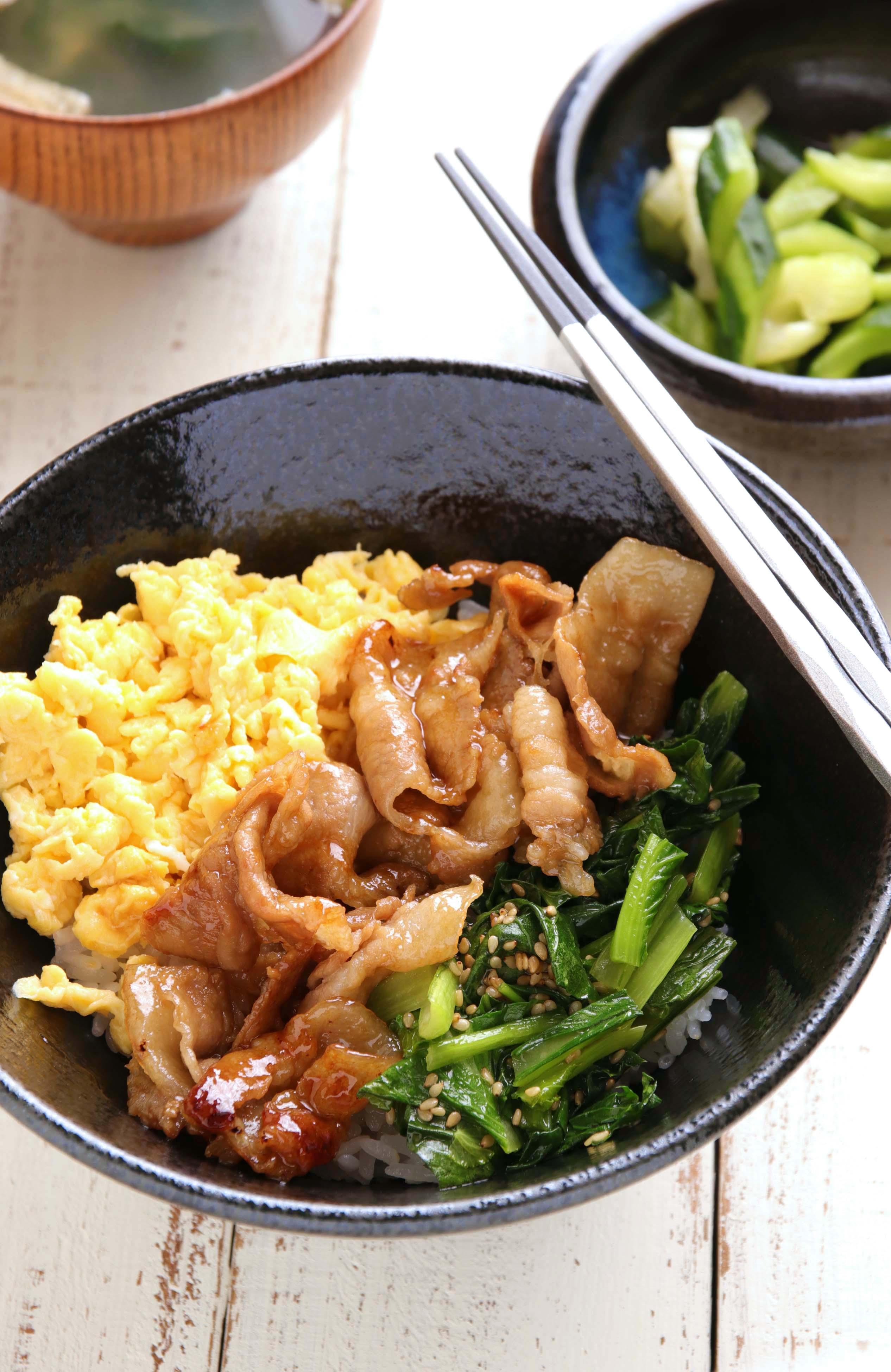 レシピ 三 色 丼